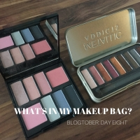 Blogtober, Day 8: What's in my makeup bag?