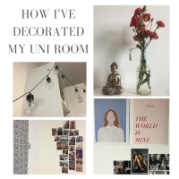 How I've decorated my uni room ♡