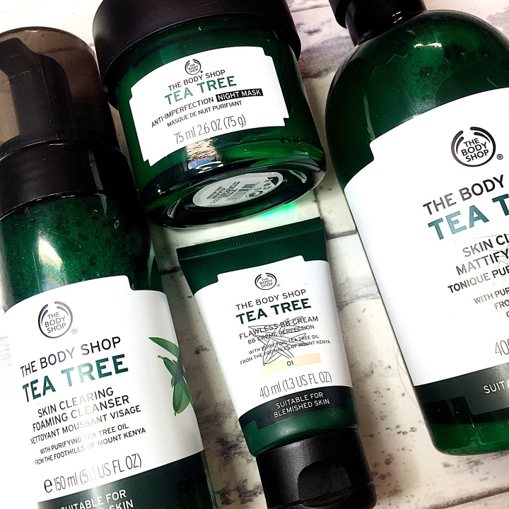The Body Shop: Tea Tree Skincare